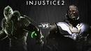 Injustice 2 - Бэйн против Дарксайда - Intros Clashes (rus)