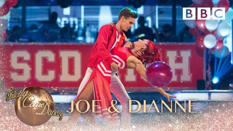 Joe Sugg Dianne Buswell American Smooth to 'Breaking Free' - BBC Strictly 2018