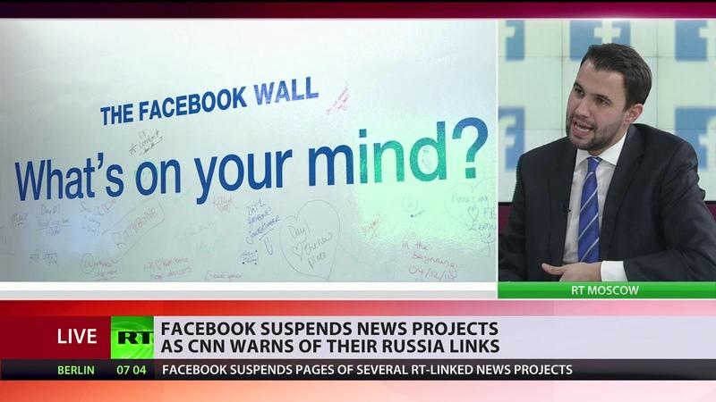 Beispiellose Zensur: Facebook löscht Accounts mit Millionen Abos wegen RT-Verbindung