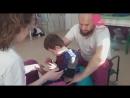 Рабочие моменты в ЦРиАФ Вместе с мамой. Реабилитация ДЦП