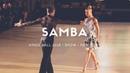 Riccardo Cocchi - Yulia Zagoruychenko   Samba   Showcase   Kings Ball 2018