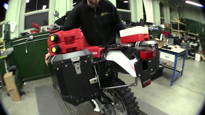Twisted Throttle XR650L Bike Build, Patrick Trahan: episode 3 Sidecase Racks