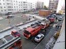 Пожар в высотке Челябинск
