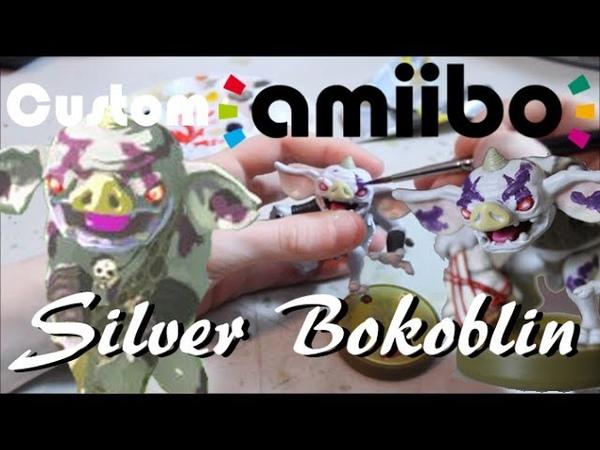 Покрас Amiibo бокоблина в его серебряную вариацию PixelCollie