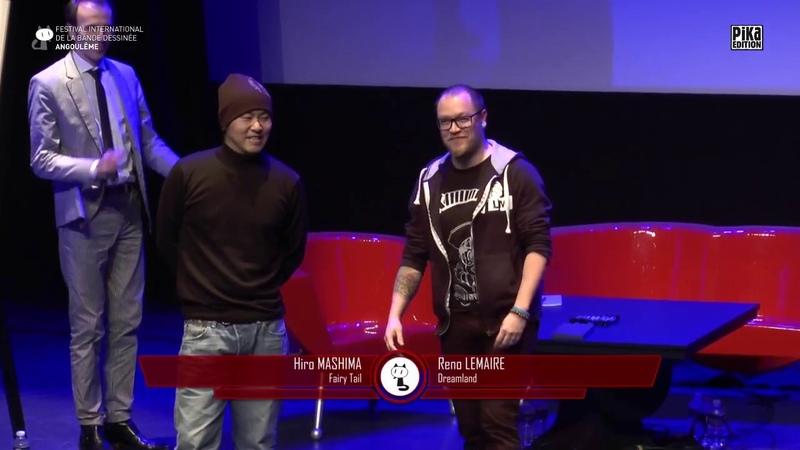 Draw Battle - Hiro Mashima VS Reno Lemaire - FIBD 2018