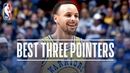 Stephen Curry's Best Three Pointers! 2018-19 NBA Season Playoffs NBANews NBA Warriors StephenCurry