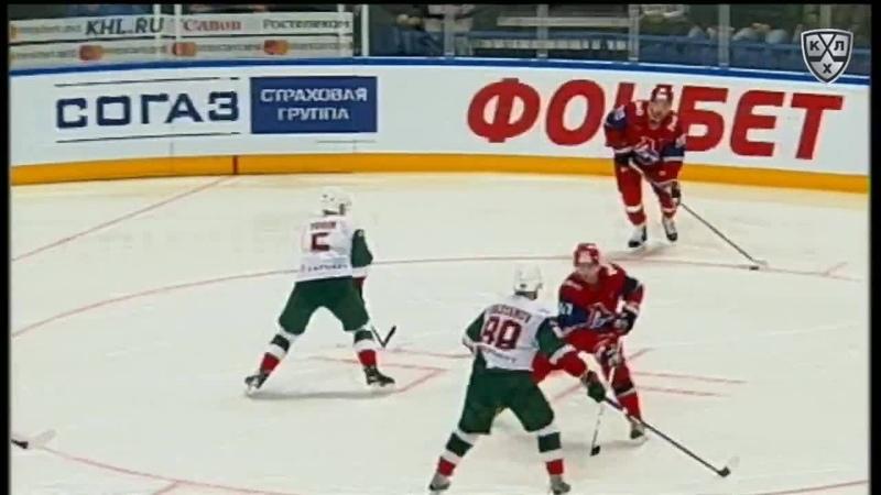 Моменты 2017/2018 • Козун забивает с классной передачи Апалькова