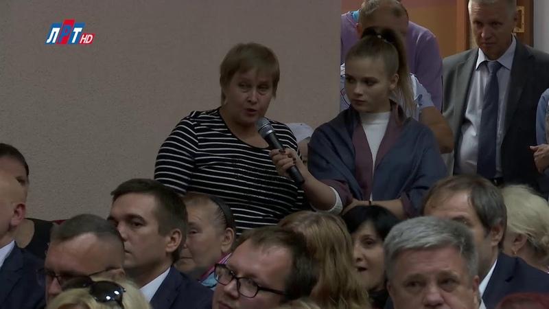 Очередная встреча главы с жителями Октябрьского