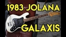 1983 Jolana Galaxis Amphibian Guitars