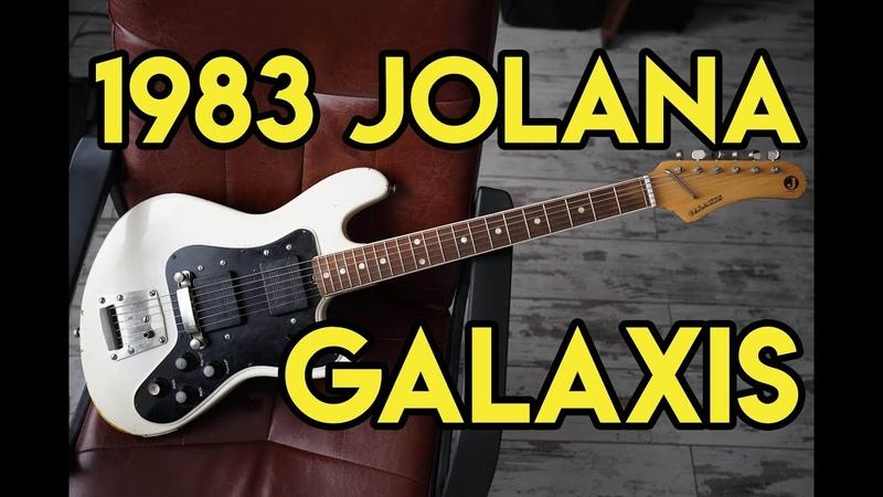 1983 Jolana Galaxis | Amphibian Guitars