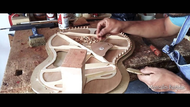Luthier Jhon Eder Bastidas (Colombia) Guitarra tipo McPherson
