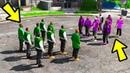 GTA 5 - ЧТО БУДЕТ ЕСЛИ ВЫ ПРИВЕДЕТЕ ЧУЖИХ НА ГРУВ СТРИТ!