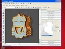 Tutorial How to make 3D logo use Xara3D part1