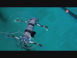 Испытания робота-квадрокоптера