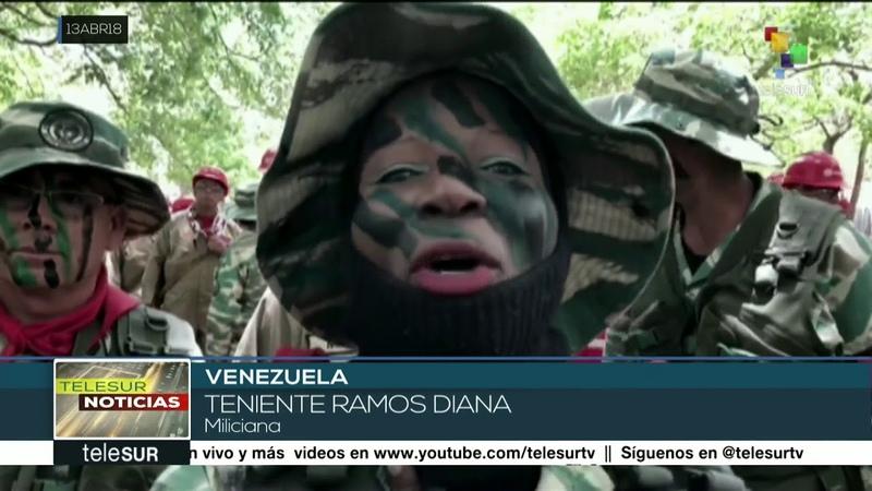 Venezuela celebra 9º aniversario de la Milicia Nacional Bolivariana