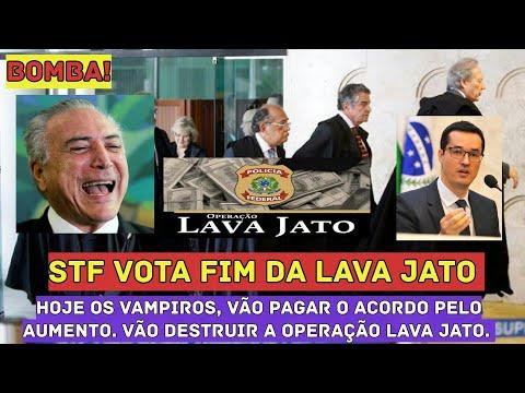 💣BOMBA! STF VOTA FIM da Lava Jato Hoje  Dinheiro no Bolso, Golpe no Povo.