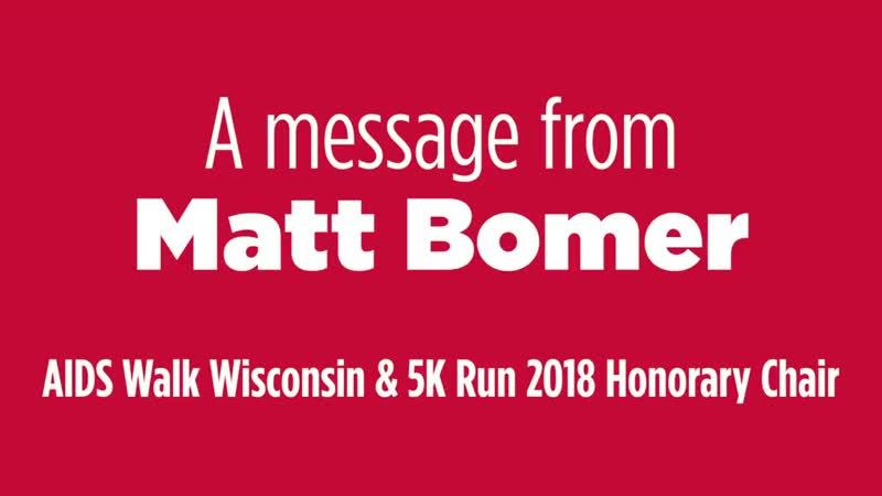 A Message From Matt Bomer