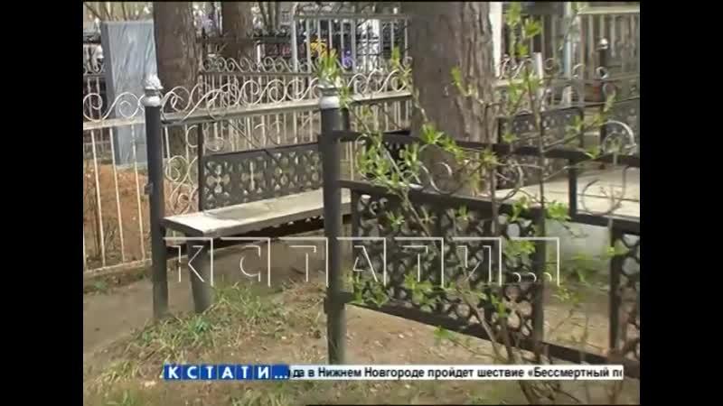 Обворовали мертвых - вандализм на кладбище в Арзамасе