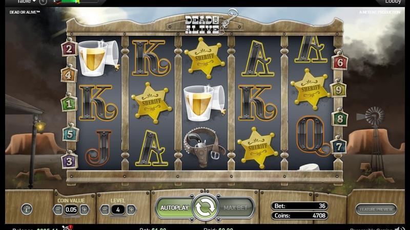 Слот DEAD Or ALIVE на покерСтарс!Slot machine DEAD OR ALIVE on PokerStars