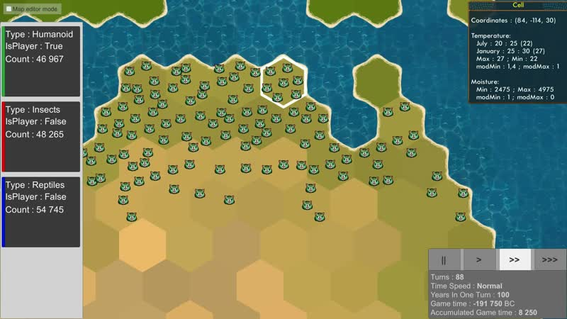 Population 4 ый прототип