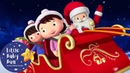 Wheels On The Sleigh Christmas Songs For Kids More Nursery Rhymes Little Baby Bum Christmas