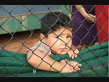 7-year-old Wilson was improperly detained by a private security contractor after being ripped away from his mom at the border.