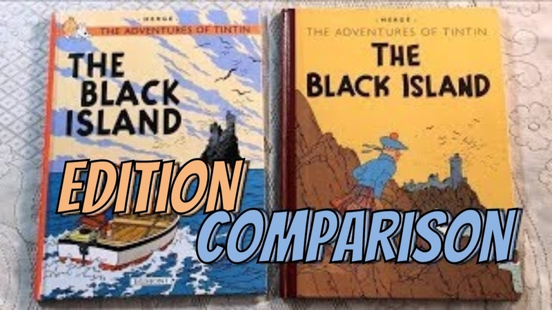 Tintin Edition Comparison: The Black Island 1943 vs The Black Island 1966 (Part 1 of 2)