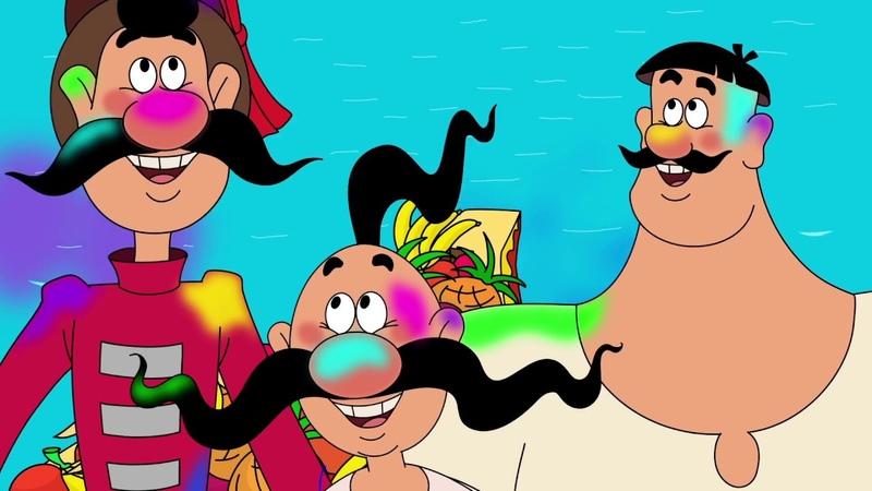 Как казаки - Новые мультики для детей: Казаки. Вокруг Света. Индия - мультфильмы 2018