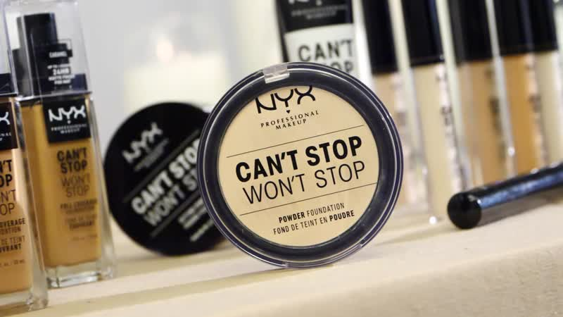 Презентация Cant Stop Wont Stop от NYX Professional Makeup