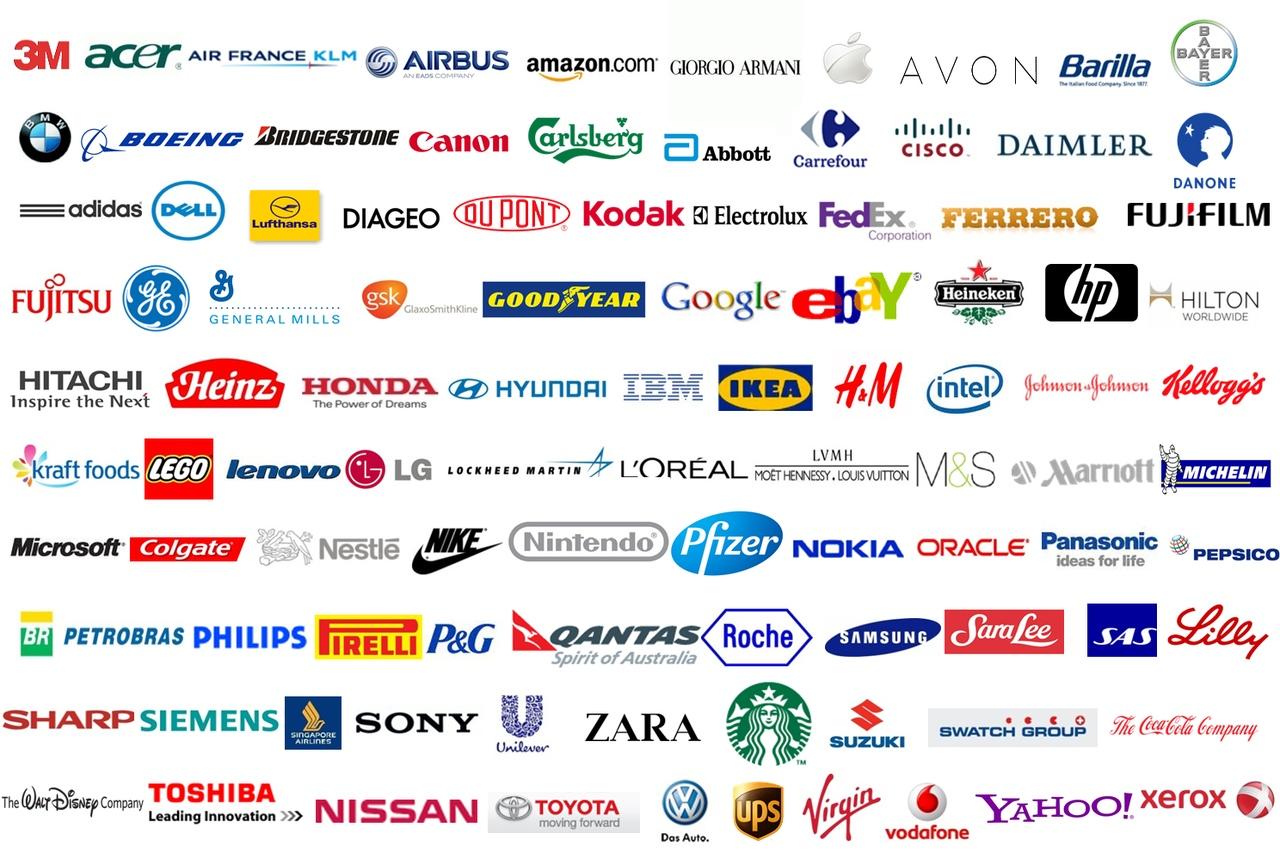 7f552e03 Лучшие логотипы компаний: 25 лого самых известных брендов мира и их история    ВКонтакте