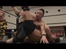 Hiroaki Moriya, Sanshiro Takagi vs. Masahiro Takanashi, Yukio Sakaguchi (DDT - Road to Ryogoku 2018 ~ Dramatic Dream Takadoro)