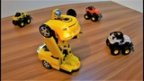 Play With Transformers Robots Car and Unboxing Kids Toys Eram AR Toys EP2