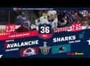 НХЛ НА РУССКОМ. КС-18/19. Р2. Колорадо - Сан-Хосе (матч 6)