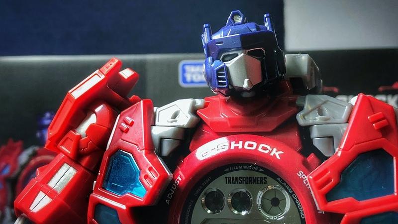 Casio G-Shock x Takara Tomy Transformers figurine review | another DW-6900TF-SET