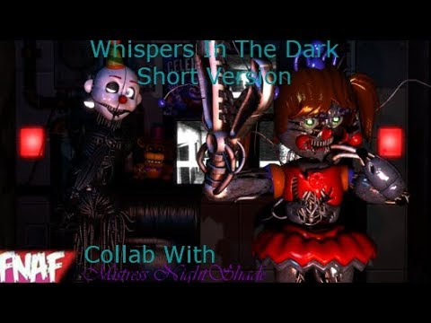 (Fnaf) (SFM) Whispers In The Dark By FabvL Short Version Collab With Mistress NightShade