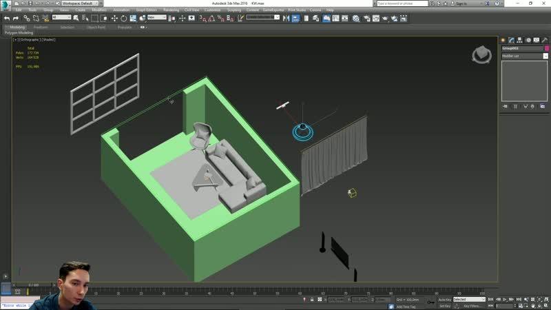 Онлайн урок 1 Занятие №2 Детализация сцены моделями