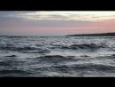 вечерний шторм на Ладоге