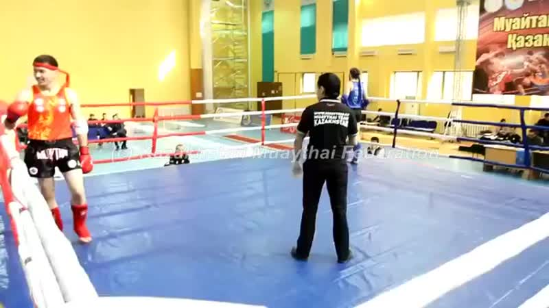 чемпионат Казахстана по тайскому боксу Умаев Эмиль весовая до 81 кг.mp4