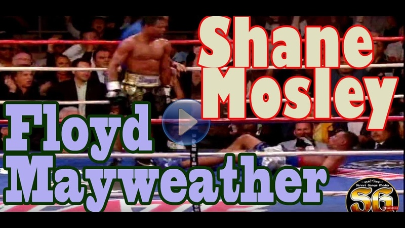 Floyd Mayweather Sugar Shane Mosley highlights and intro for their matchup