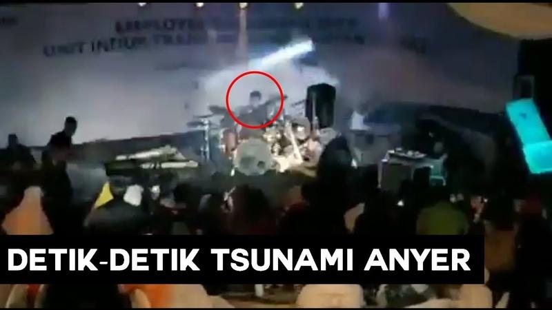 Inilah Detik Detik Tsunami Pantai Anyer Banten yang Menimpa Band Seventeen