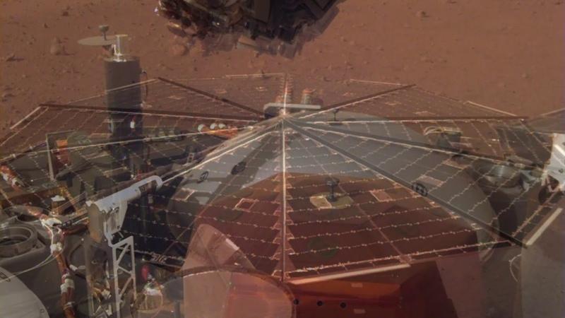 Sounds of Mars: NASA's InSight Senses Martian Wind