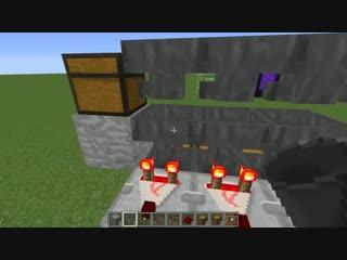 [Blackman`s channel] [Гайды] Автоматическая сортировка предметов Minecraft/Майнкрафт за 5 минут + как сломать :)