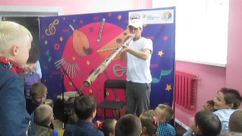 Театр Ути-Пути, фестиваль Палитра культур - музыкальная площадка