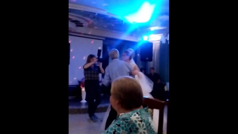 Свадебный танец с любимым дедушкой