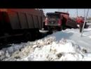 камаз и китайский грузовик смешно