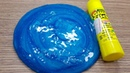 1 INGREDIENT SLIME GLUE STICK How to make Slime with GLUE STICK