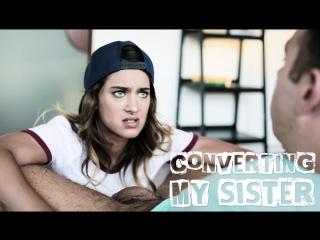 [PureTaboo] CONVERTING MY SISTER / Uma Jolie.(ArtPorn,Brunette, Hardcore, Teen, Family Roleplay, Step Sister, Step Brother, Lesb