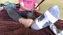 Wearing stolen socks from teen boy