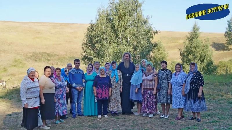 паломники в Пронском монастыре