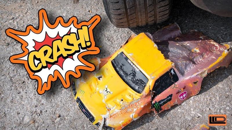 Crash test fiberglass body for Remo Hobby 9emu Traxxas Slash 4x4